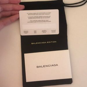 Balenciaga Accessories - Balenciaga Brown Tortoise Shell Sunglasses